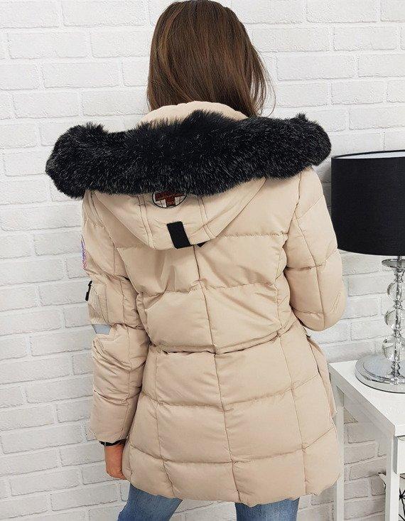 Gruba kurtka puchowa, idelana na zimę